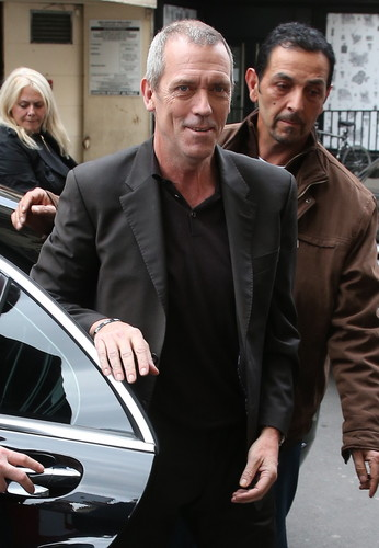 hugh Laurie in Paris 29.04.2013