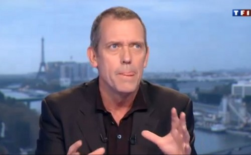 Hugh Laurie Interview with TF1 - Tongue  abril 2013