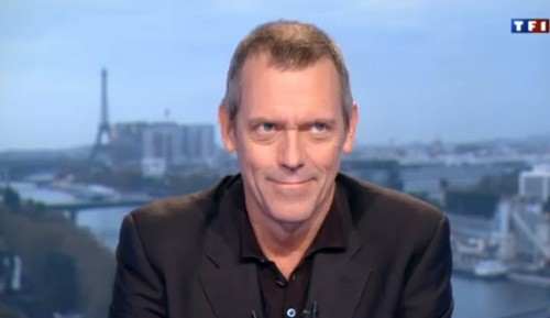 Hugh Laurie Interview with TF1 - abril 2013