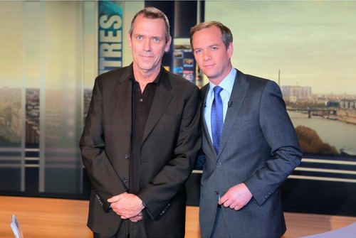 Hugh Laurie Interview with TF1 abril 2013