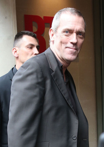 hugh Laurie in Paris abril 2013