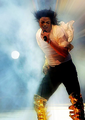 in the wind - michael-jackson photo
