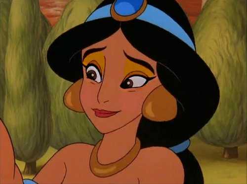 jasmine's nude look - disney-princess Photo