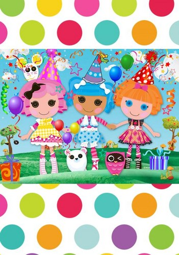 Lalaloopsy wallpaper titled lalapolka
