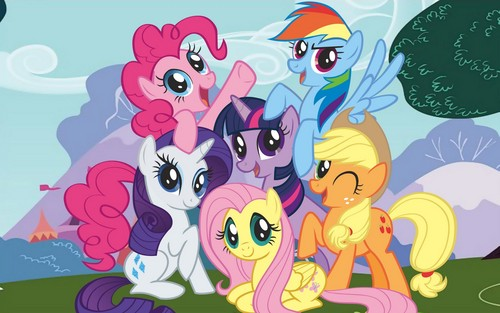 My Little ngựa con, ngựa, pony - Friendship is Magic hình nền containing anime titled mlp