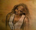 my drawing of Janet - janet-jackson fan art