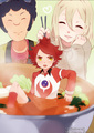 oh no Burn u are gonna get eaten TT~TT - inazuma-eleven photo