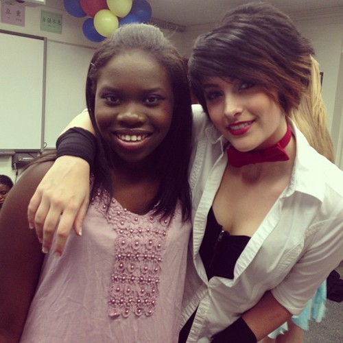 pars's friend and paris jackson new 2013