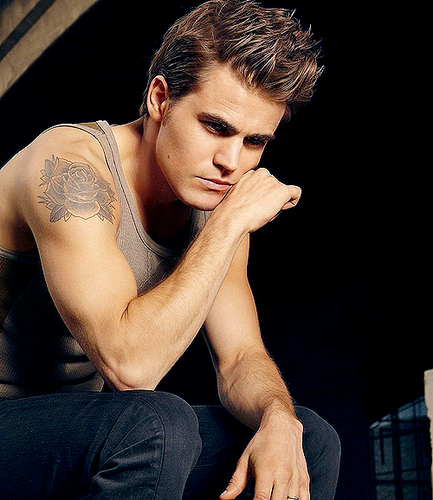 Paul Wesley wallpaper containing skin entitled paul