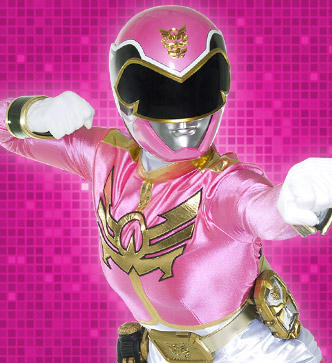 ピンク ranger megaforce