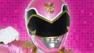 گلابی ranger megaforce