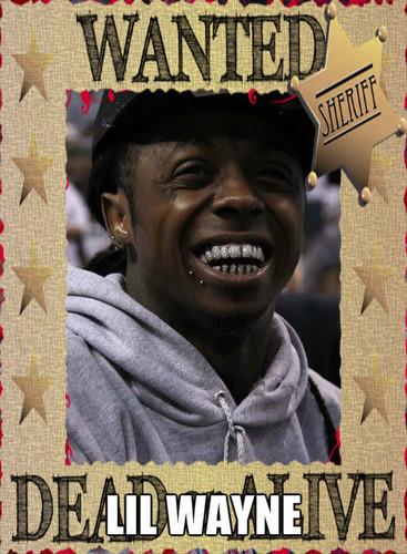 Lil' Wayne wallpaper with anime entitled rapper
