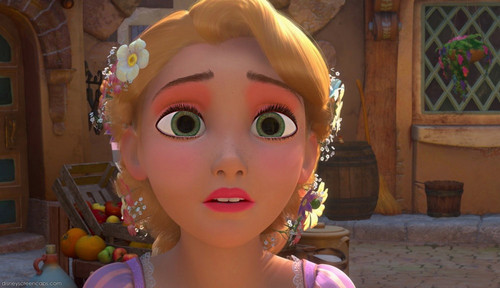 rapunzel's summertime look