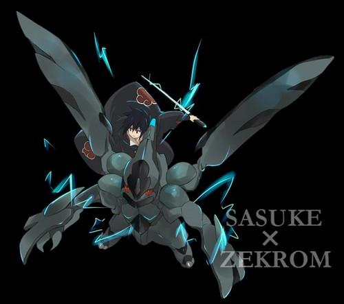 sasuke x zekrom