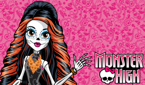 Monster High wallpaper with anime called skelita