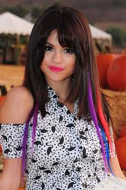 selena gomez changing her hair colour faster than miley?