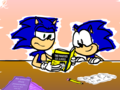 sonic reading - picks wallpaper
