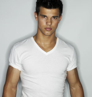 Twilight Series پیپر وال possibly containing a jersey, a short sleeve, and a portrait entitled taylor lautner tumblr