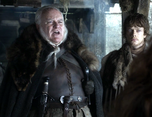 theon and rodrik