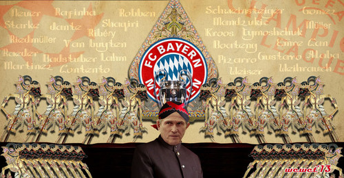 FC Bayern Munich wallpaper entitled wayang munchen
