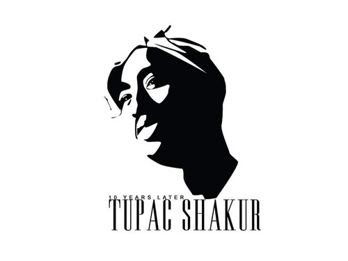 Tupac Shakur wallpaper called white 2 pac