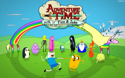 Adventure Time With Finn and Jake wallpaper with anime titled  Adventure Time