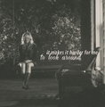 But at least I have you. - klaus-and-caroline fan art