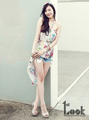 'Californian Girl': Tiffany Featured in '1st Look' Magazine for a Photoshoot in Los Angeles - girls-generation-snsd photo