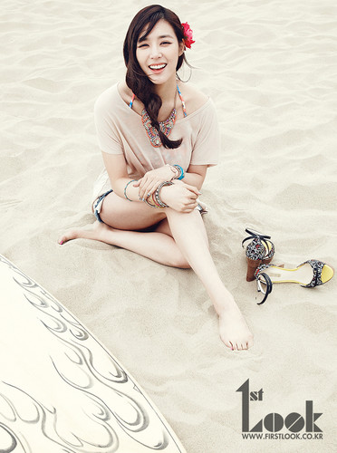 'Californian Girl': Tiffany Featured in '1st Look' Magazine for a Photoshoot in Los Angeles