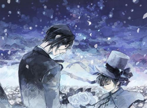 ~Ciel Phantomhive and Sebastian Michealis~