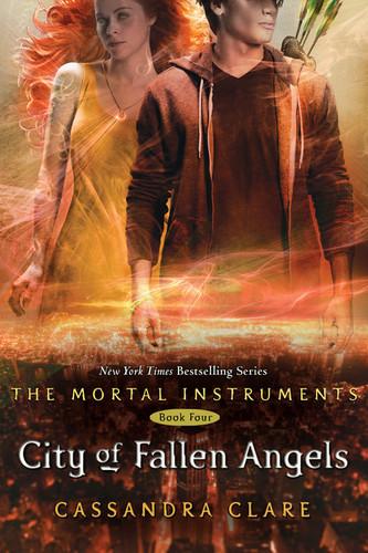 'City of Fallen Angels' book cover (The Mortal Instruments #4)