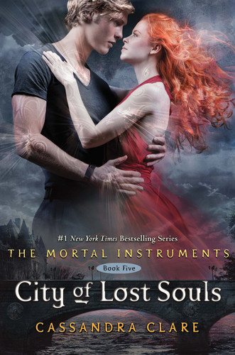 'City of lost Souls' book cover (The Mortal Instruments #5)