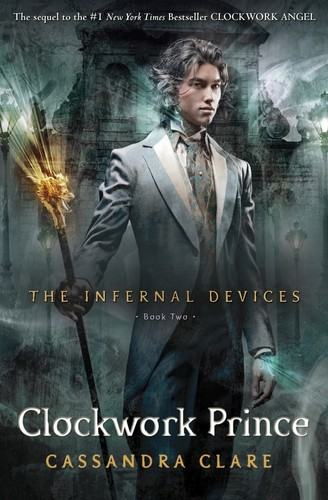 'Clockwork Prince' book cover (The Infernal Devices #2)
