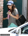 [HQ] May 14th - Leaves the Gym in Santa Monica, California - pretty-little-liars-tv-show photo