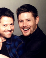 ~ Jensen & Misha ~ - jensen-ackles-and-misha-collins photo