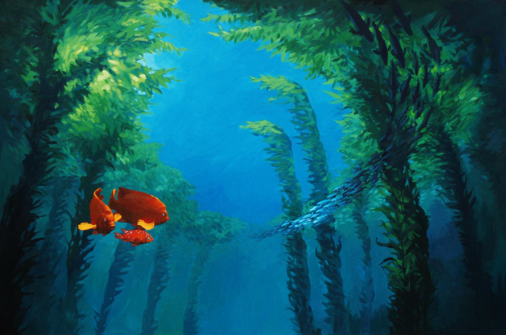 Kelp forest hd