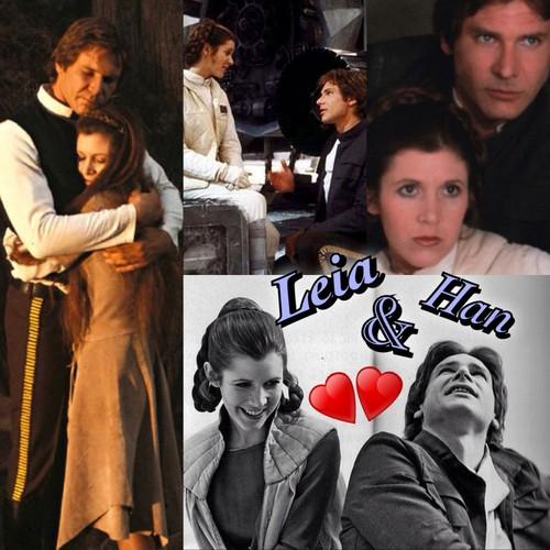 Leia & Han <3