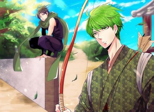 ~Midorima and Takao~