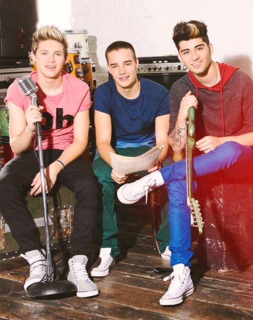 ¡ Niall, Liam & Zayn ♥