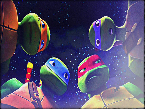 2012 Teenage Mutant Ninja Turtles wallpaper entitled ★ TMNT ☆