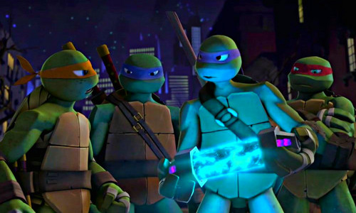 2012 Teenage Mutant Ninja Turtles wallpaper probably with a navy segel and a green baret titled ★ TMNT ☆