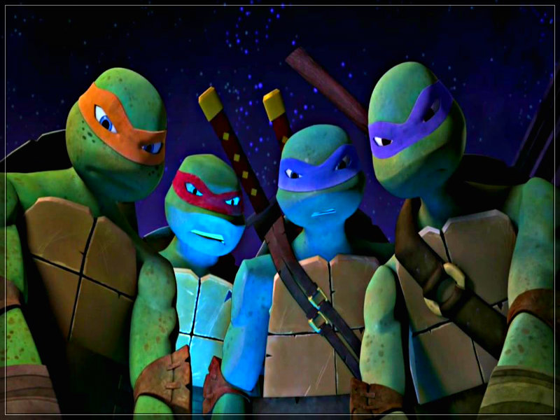 2012 Teenage Mutant Ninja Turtles ? TMNT ?