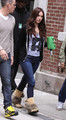 'Teenage Mutant Ninja Turtles' Films in NYC - megan-fox photo