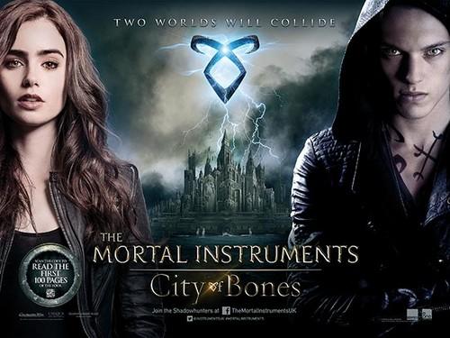 'The Mortal Instruments: City of Bones' UK Poster