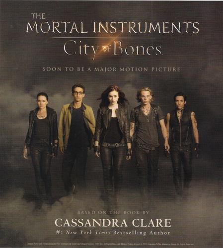 'The Mortal Instruments: City of Bones' poster
