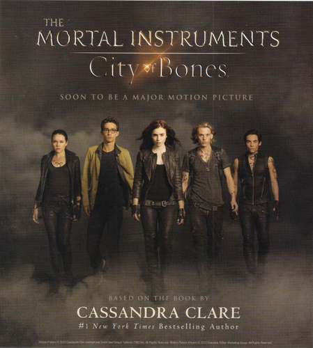 'The Mortal Instruments: City of Bones' posters