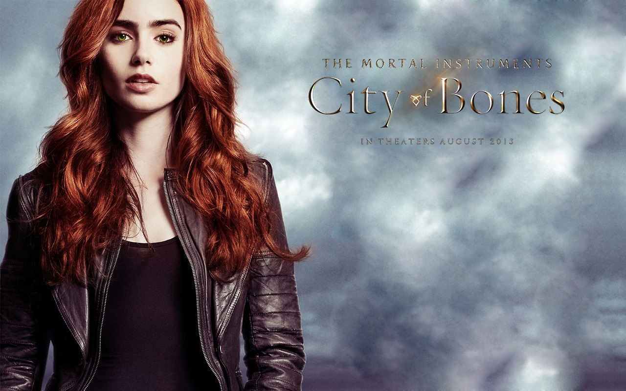 City of Bones  wallpaper  Jace And Clary City Of Bones