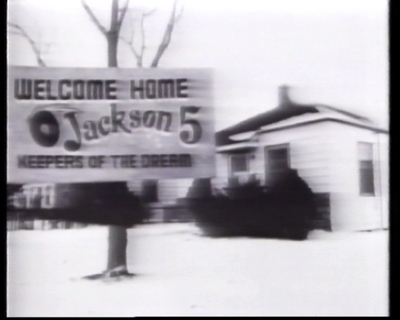 """Welcome Jackson 5"" Billboard"