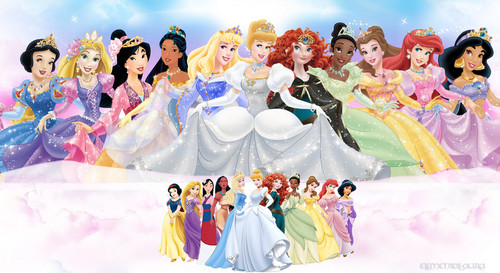 disney princesas wallpaper called Walt disney imagens - The disney Princesses