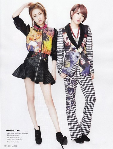 2YOON for 'CeCi Thailand'